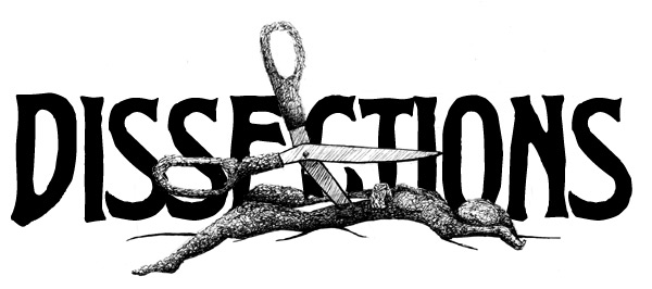 Dissections logo scissors body by Deena Warner